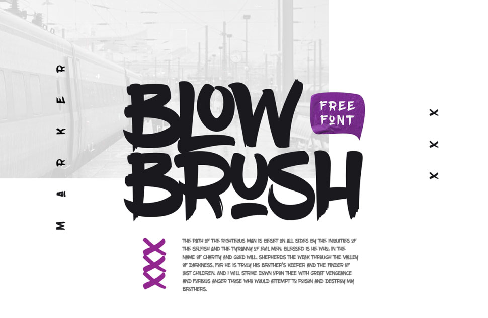 Blow Brush